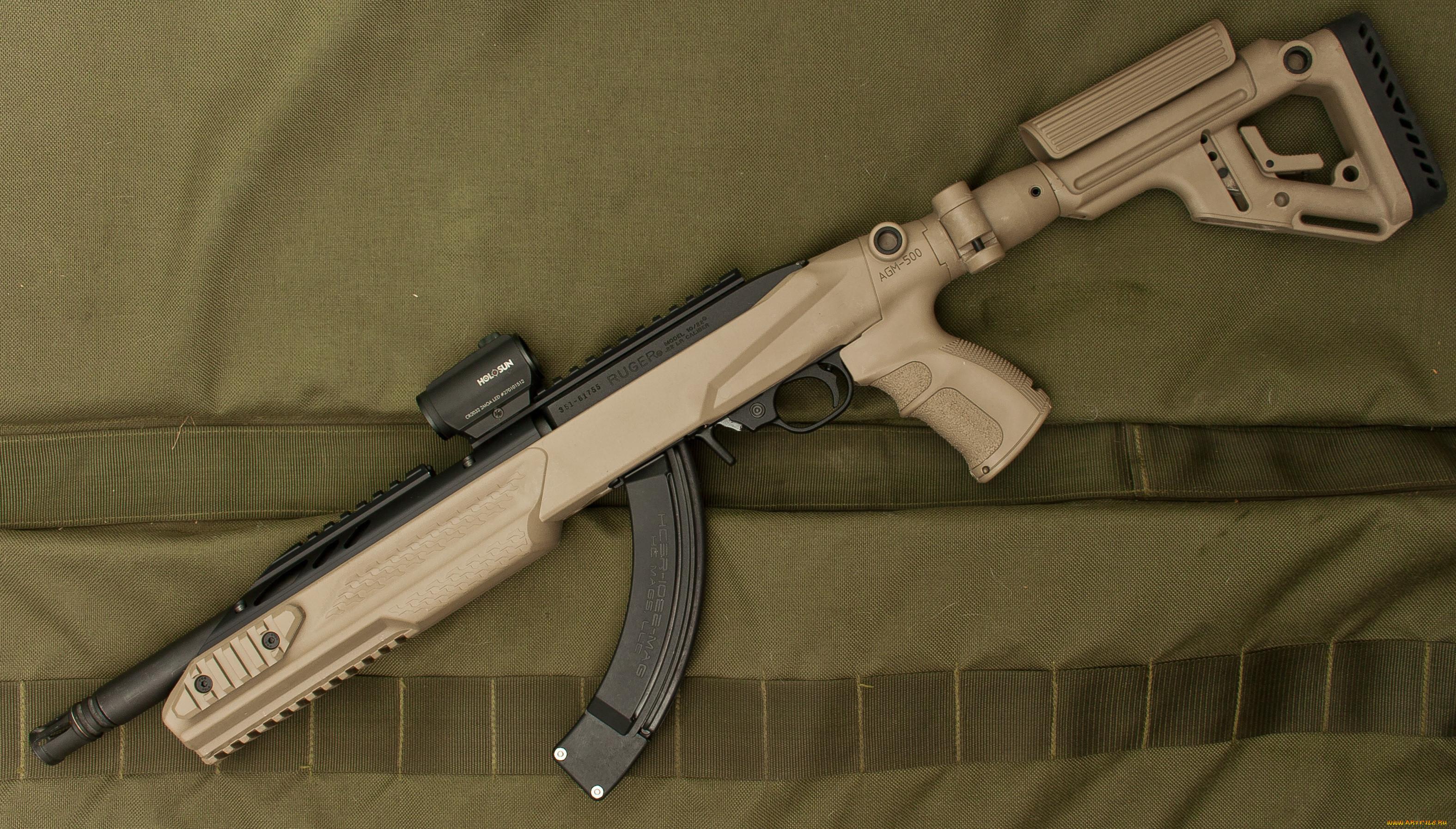оружие, снайперская винтовка, ruger, 10-22, винтовка, полуавтоматическая